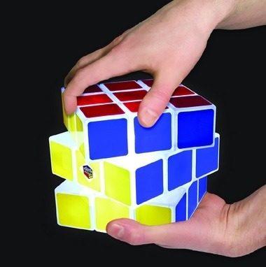 Luminaria Cubo Magico