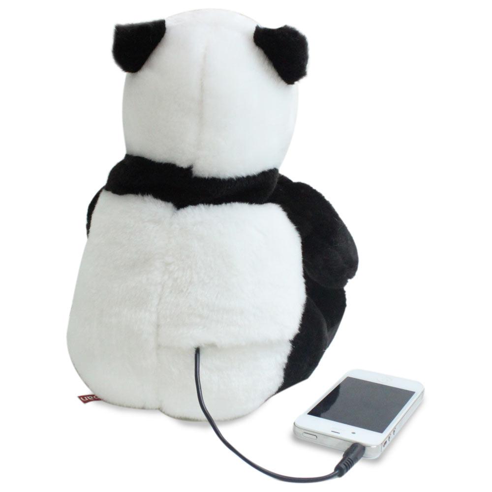 Caixa de Som - Urso De Pelucia - Panda