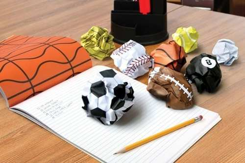 Bloco De Papel Esportes - Amasse E Jogue!