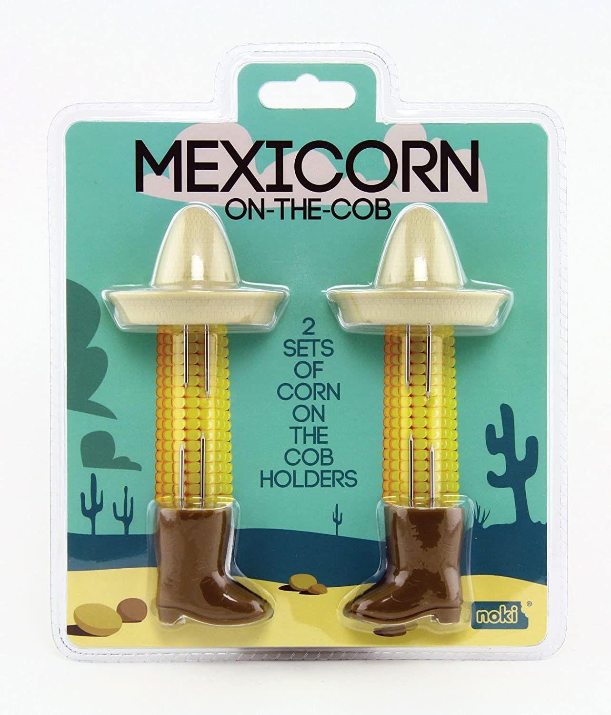 Kit com 2 Suportes para Milho - Mexicano