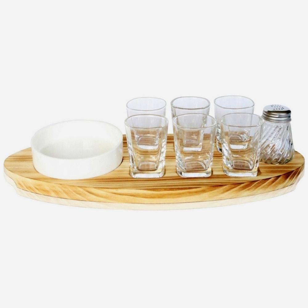 Kit Tequila com 9 Peças