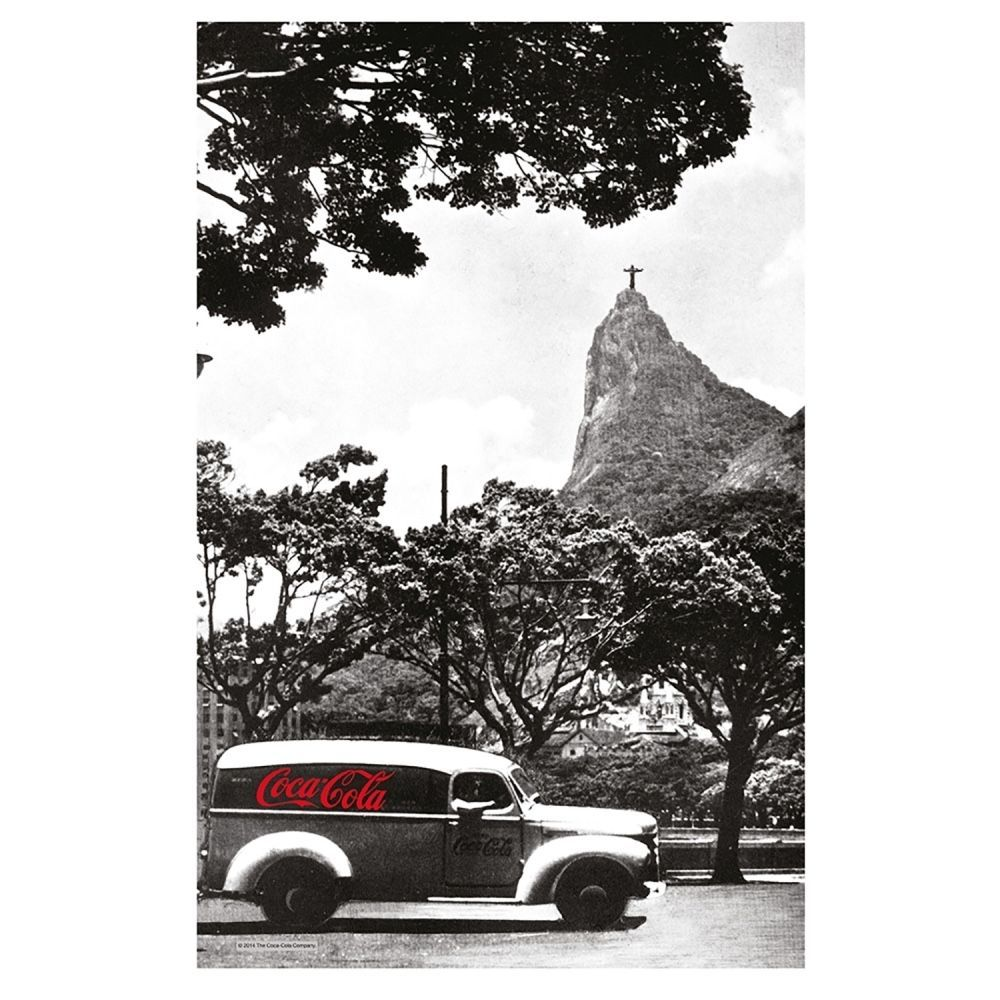 Pano de Prato Coca-Cola Cristo Redentor Rio de Janeiro