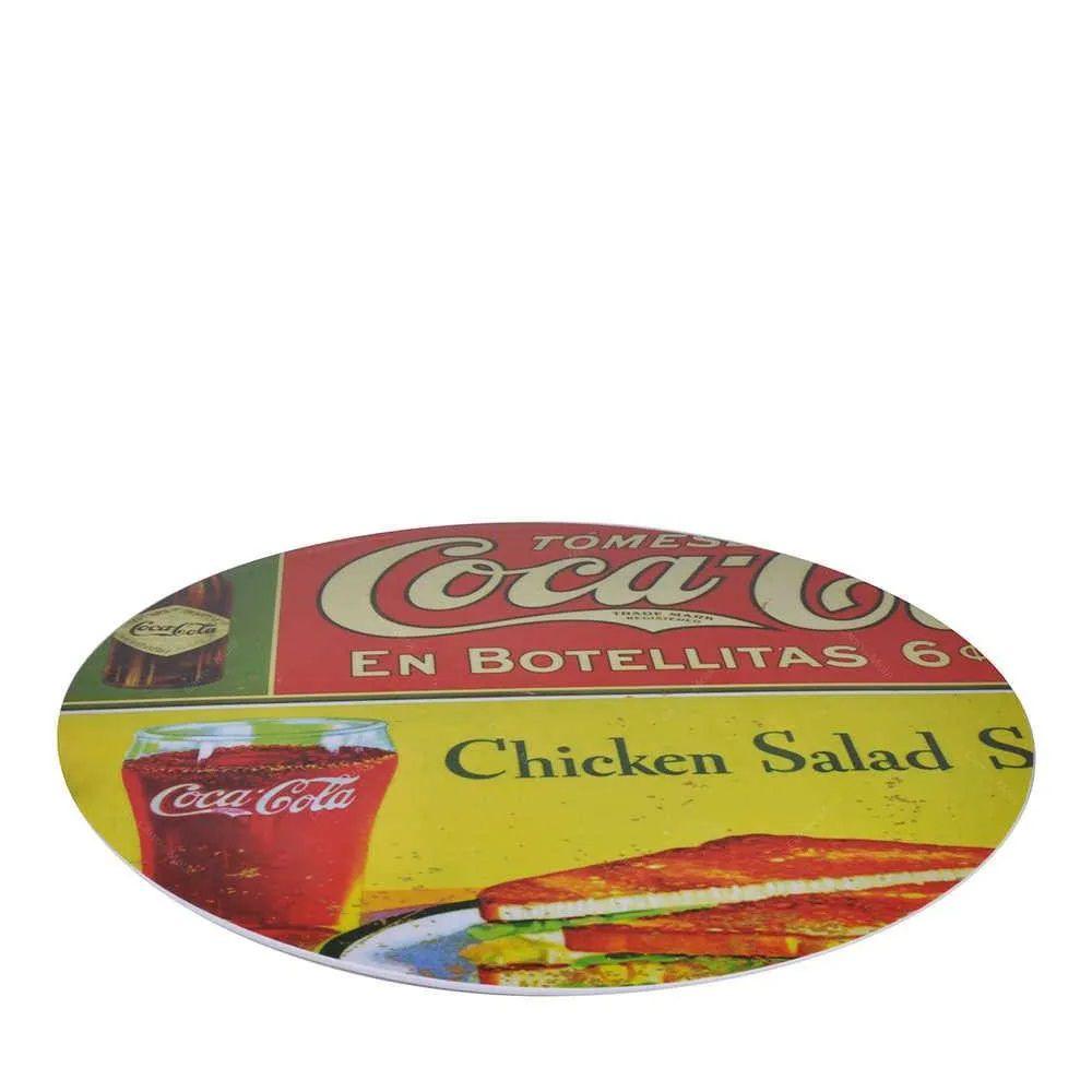 Prato Giratório Coca-Cola – 40CM En Botellitas em Melamina - Urba