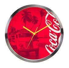 Relógio de parede Coca-cola Landscape