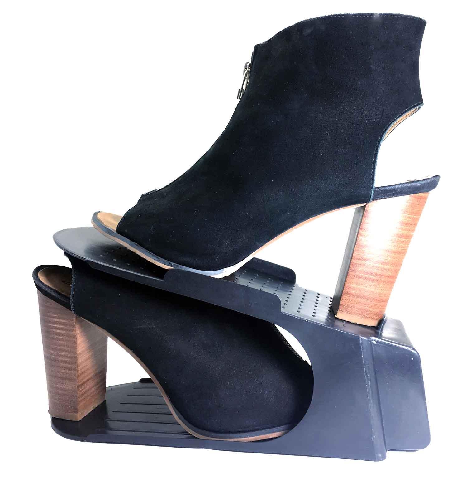 Sapateira Organizadora de Sapatos - 10 Peças - Preto