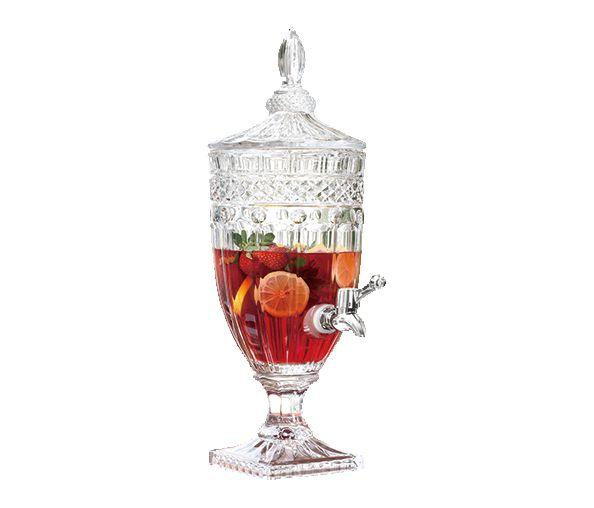Suqueira Classica em cristal ecológico com pé 3L