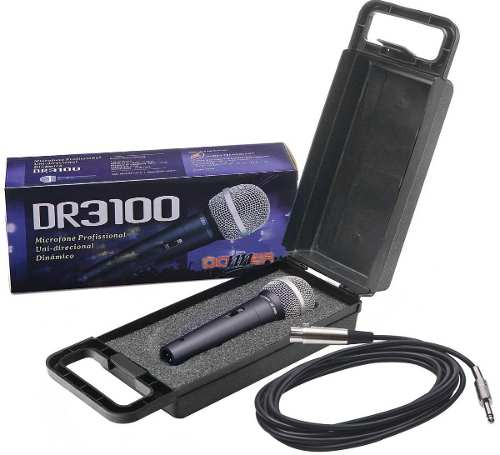 Microfone Dr3100 Som Ambiente
