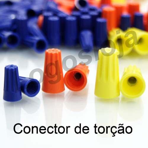 Conector De Torção Emenda Para Cabos Fios (350pçs)