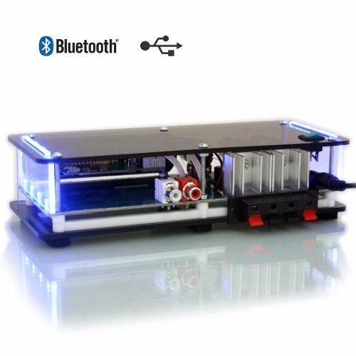 Amplificador MBORT AP BT 60W com USB/FM/BLUETOOTH