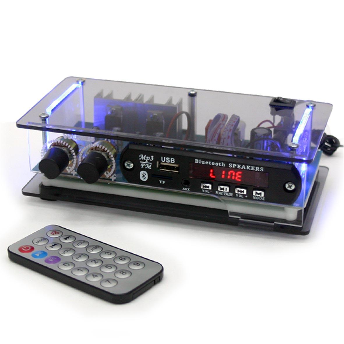 Amplificador MBORT AP BT 40W com USB/FM/BLUETOOTH