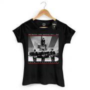 Camiseta Feminina The Beatles First American Visit 1964