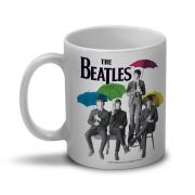 Caneca The Beatles Umbrella Colors