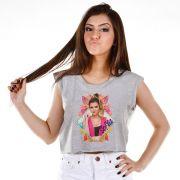 Blusa Cropped Feminina Sofia Oliveira Foto