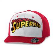 Bon� Aba Reta Superman Logo Cl�ssico