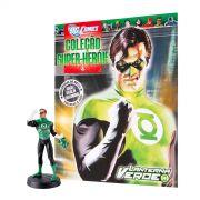 Boneco Miniatura Lanterna Verde + Revista