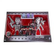 Bonecos Suicide Squad 4' Twin Pack The Joker Boss e Harley Quinn