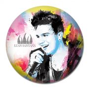 Button Luan Santana Foto Colors