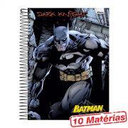 Caderno 10 Matérias Batman Dark Knight