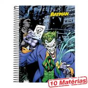 Caderno 10 Mat�rias Batman The Joker