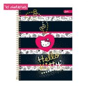 Caderno Hello Kitty Fashion Book 10 Matérias