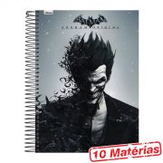 Caderno 10 Matérias The Joker Half Black Face