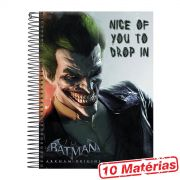 Caderno 10 Matérias The Joker Nice Of You to Drop In