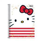 Caderno Hello Kitty Face 1 Mat�ria