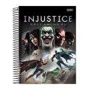 Caderno 1 Mat�ria Injustice Gods Among Us