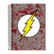 Caderno 1 Matéria The Flash Logo