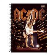 Caderno AC/DC Angus Young Upper 10 Mat�rias