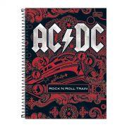 Caderno AC/DC Rock N Roll Train 1 Mat�ria