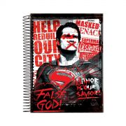 Caderno Batman VS Superman False God 1 Matéria