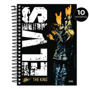 Caderno Elvis Presley The King 10 Matérias