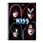 Caderno Kiss Faces 10 Mat�rias