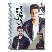 Caderno Luan Santana Poses 1 Matéria