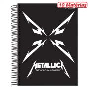 Caderno Metallica Beyond Magnetic 10 Mat�rias