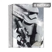 Caderno Star Wars Stormtrooper Shadow 10 Matérias