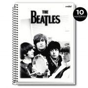 Caderno The Beatles P&B 10 Matérias