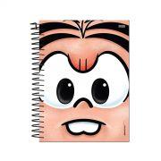 Caderno Turma da Mônica Big Face Mônica 1 Matéria