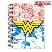 Caderno Wonder Woman Colors 10 Matérias