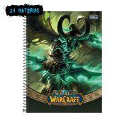 Caderno World of Warcraft Illidan 10 Matérias