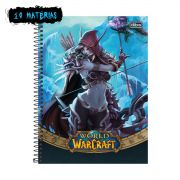 Caderno World of Warcraft Sylvanas 10 Mat�rias