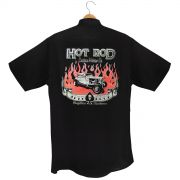 Camisa Manga Curta Hot Rod Custom Motors Co.