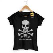 Camiseta Feminina 89 FM A R�dio Rock Est 1985