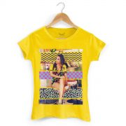Camiseta Feminina Anitta Deixa Ele Sofrer