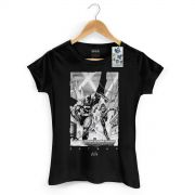 Camiseta Feminina Batman Tracing Batman e Robin