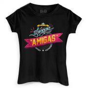 Camiseta Feminina Bruninho & Davi Imagina com as Amigas