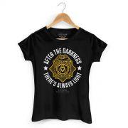 Camiseta Feminina Gotham There´s Always Light