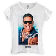 Camiseta Feminina Harmonia do Samba Deixa eu te Amar Nen�m