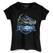 Camiseta Feminina Heroes Of The Storm Illidan